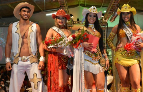 Participantes do Concurso da Rainha
